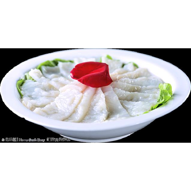 新鮮魷魚切片 300克