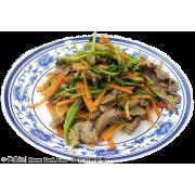 香菜炒牛肉