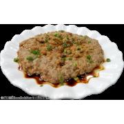 梅香鹹魚蒸黑豚肉餅