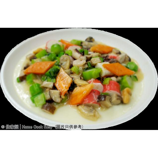 瑤柱海鮮蒸蛋白